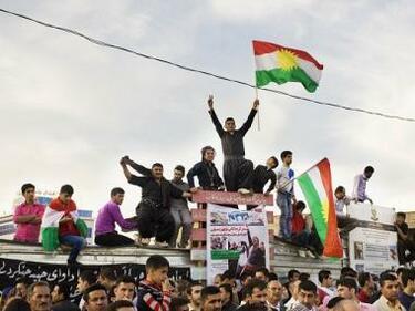 """Иракски Кюрдистан каза """"да"""" на отцепването от Багдад"""