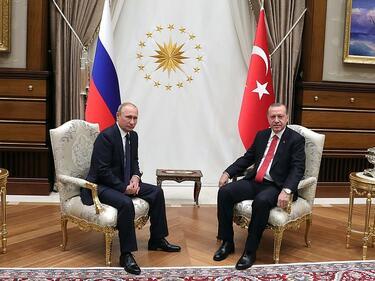 Путин след Анкара: Вече са налице условия за край на войната в Сирия