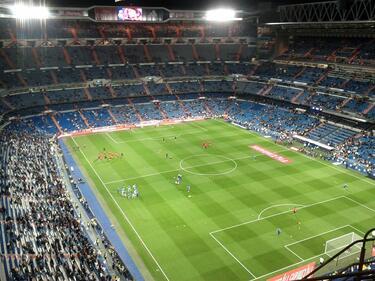 Наша двойка се сгоди на мача Реал-Еспаньол