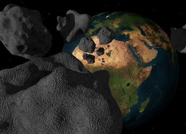 Учени: Животът на Земята се зародил след падане на метеорит