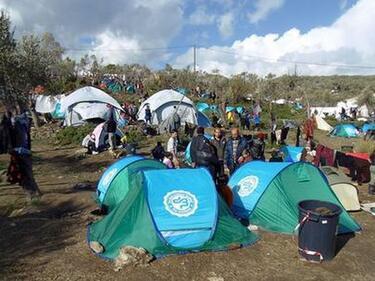 """""""Хюман Райтс Уоч"""": Центърът за мигранти на отстров Лесбос е концлагер"""