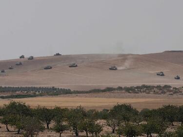 Турската армия пак нахлува в Сирия