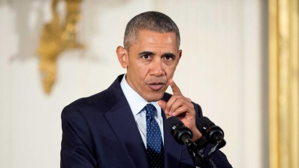 Бившият американски президент Барак Обама произнесе в петък пламенна реч,