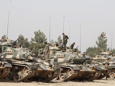 Турската операция в Сирия започна