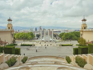 Отцепиха района около парламента в Барселона