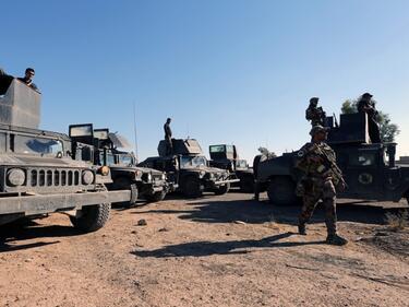 Иракската армия завзе още един северен град