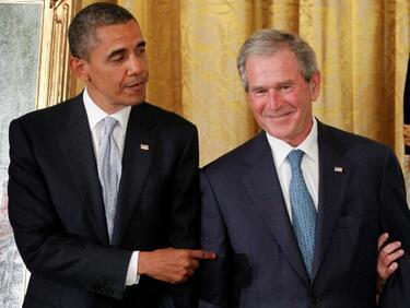 Демократът Обама и републиканецът Буш атакуваха Тръмп