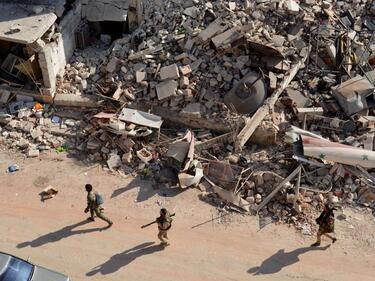 Още един град в Сирия свободен от джихадистите