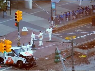 Атентат в Ню Йорк! 8 загинаха, 11 са ранени