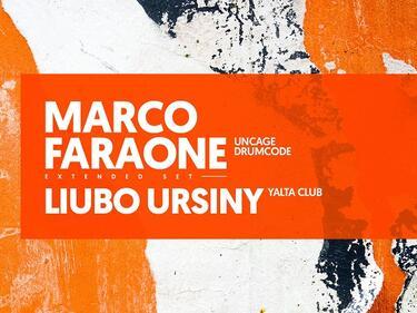 YALTA CLUB кани Marco Faraone за първото парти за ноември