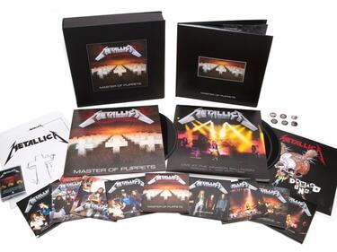 Metallica изкара ремастериран Master of Puppets