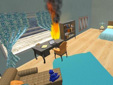 Компютърна игра учи децата как да се пазят от пожари и наводнения