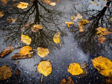 Уикендът започва с дъжд