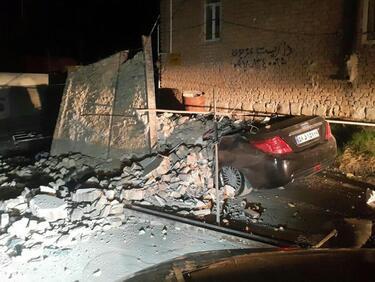 Поне 141 загинали и над 1000 ранени след мощен трус в Иран и Ирак
