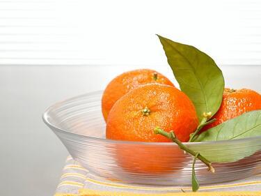 Боядисаните мандарини причиняват алергии