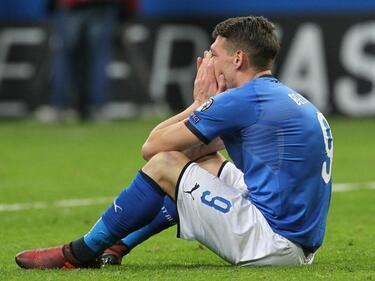 Без Италия на Мондиал 2018
