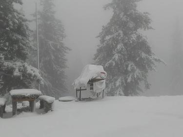 Снегът настъпва в Западните Балкани