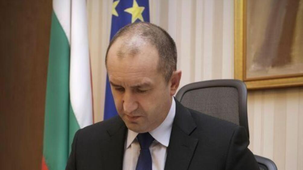 Държавният глава Румен Радев изпрати днес съболезнователно писмо до президента