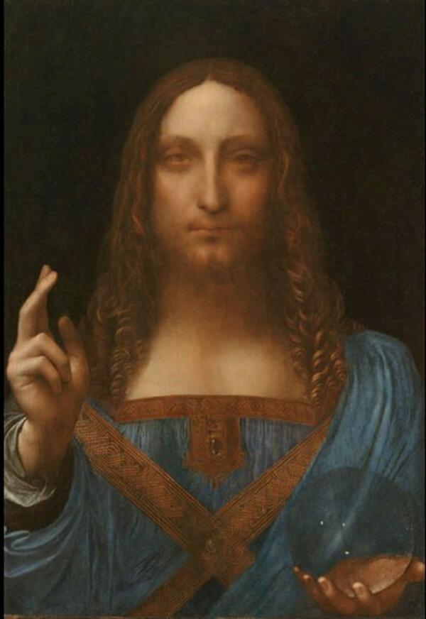 Най-скъпата картина в света вече е на Леонардо