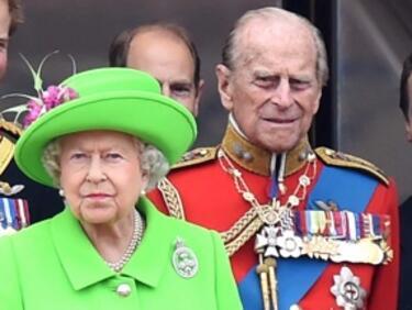 Кралското семейство празнува 70 години брак