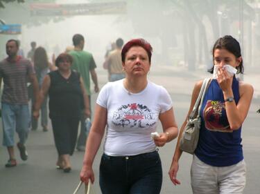 Мръсният въздух е една от причините за белодробни болести