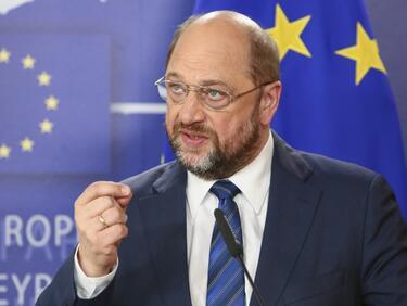 Мартин Шулц призова за Съединени Европейски щати до 2025 г