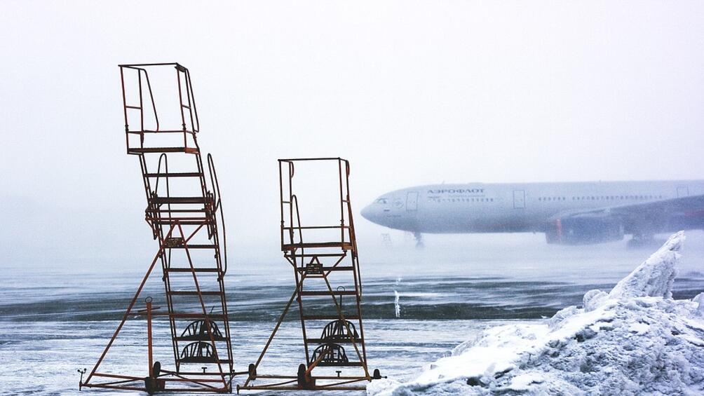 Снежна блокада в част от държавите в Западна Европа. Обилни