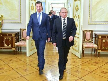 "ООН иска Путин да ""натисне"" Асад за нови избори"