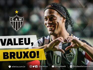 Роналдиньо официално спря с футбола