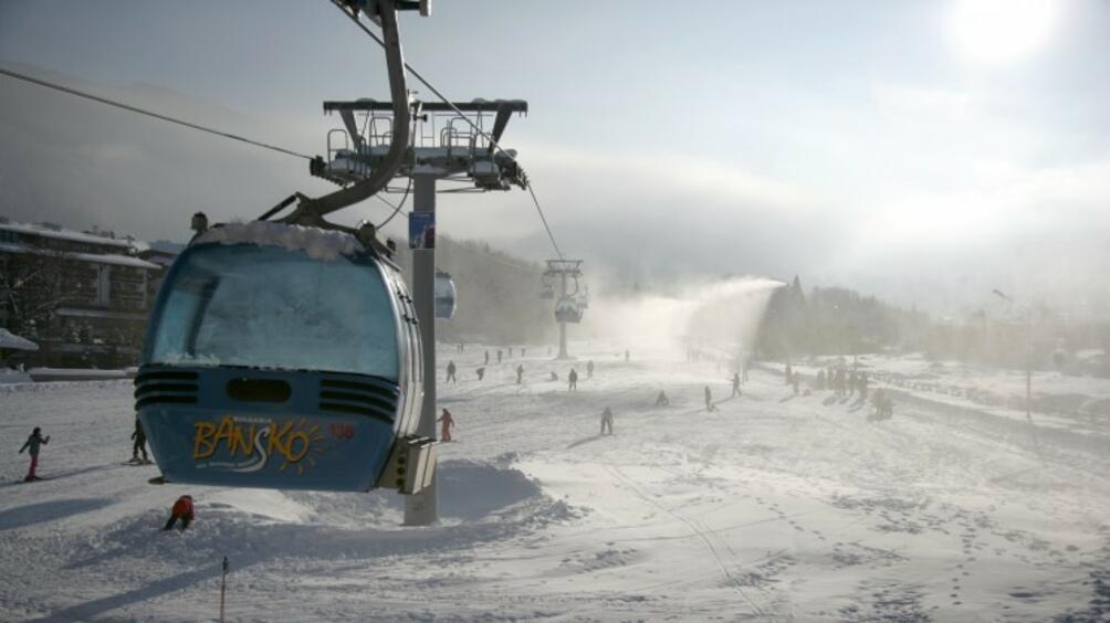 Ураганен вятър затвори ски зоната в Банско. Всички съоръжения –