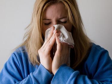 Поредните две области в грипна епидемия от утре
