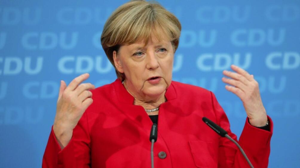 Консервативният блок ХДС/ХСС на федералния канцлер Ангела Меркел и Социалдемократическата