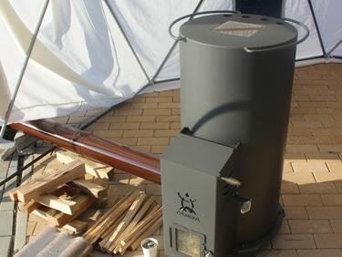 Бездимна печка на дърва показаха на екофорум в София