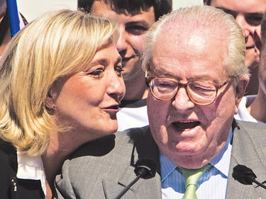 Льо Пен аут от собствената си партия