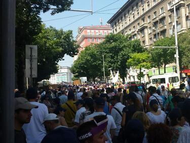 """""""Красна поляна"""" отбелязва една година протести"""