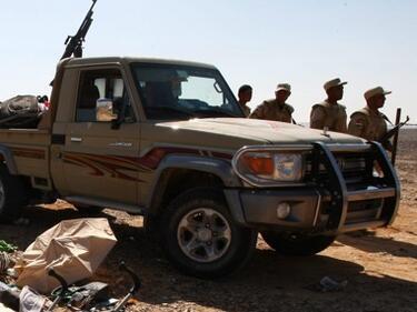 Мащабна антитерористична военна акция в Египет