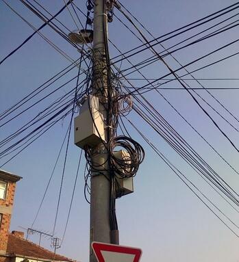 Енергийна сигурност, зависима от кабеларките