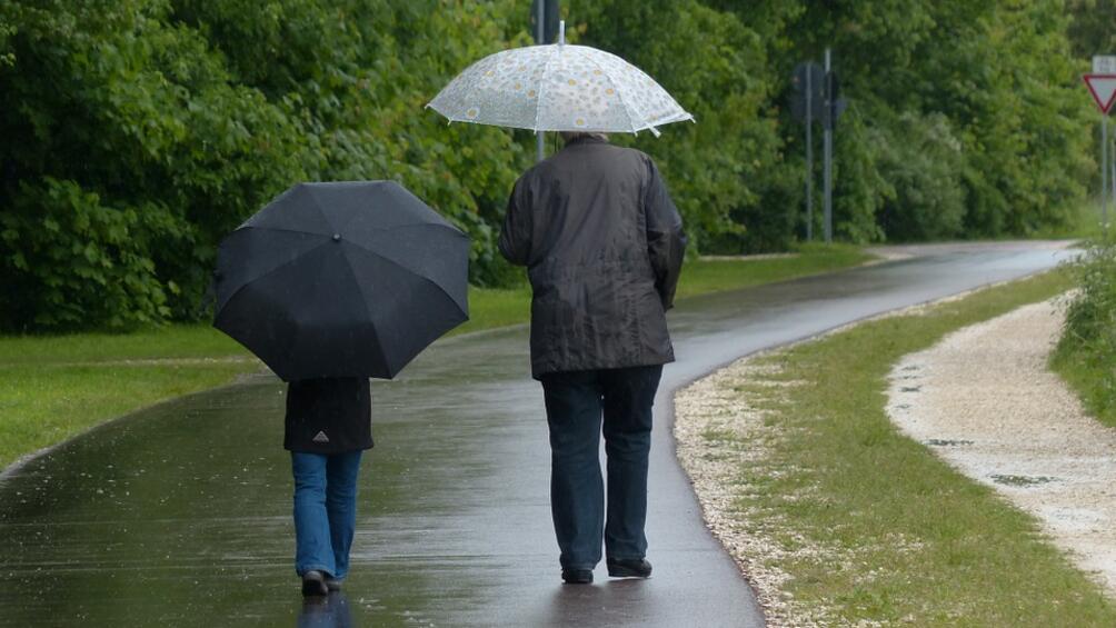 В понеделник ще бъде облачно с превалявания от дъжд и
