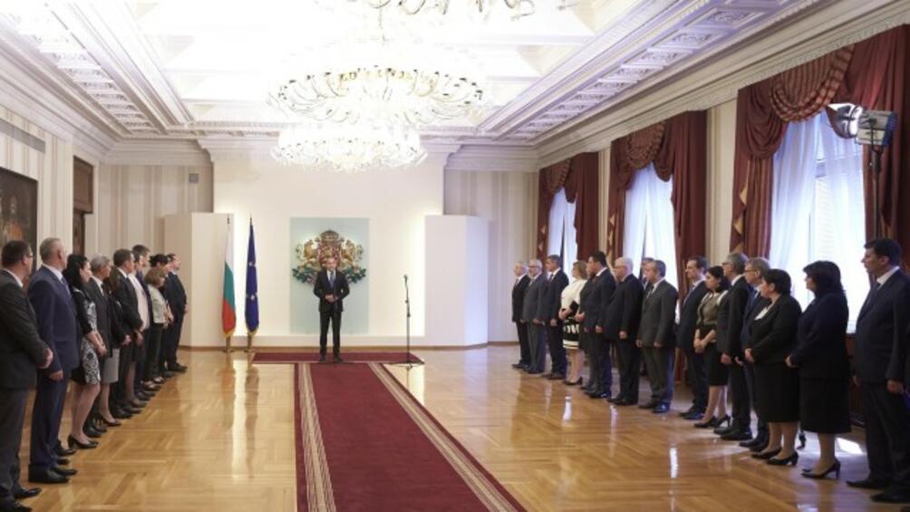 Нивата на одобрение към дейността на министър-председателя и вицепремиерите и