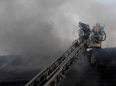 Евакуация заради пожар в детска градина