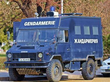Жандармерийска блокада в ромската махала на Видин
