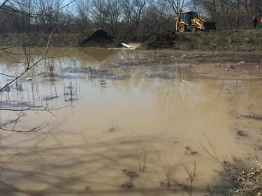 Водният ад в Брегово продължава, проблем станаха и подпочвените води