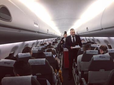 ДАНС започва да следи самолетите за терористи и опасни престъпници