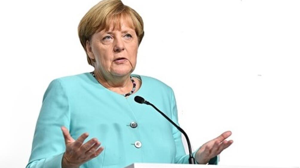 Германският канцлер Ангела Меркел заяви, четърговският излишък се свива заради