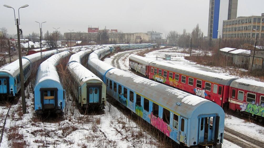 Четирима души пострадаха при сблъсък на два влака в района