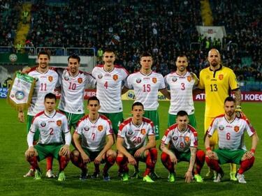 Футболните ни национали пак със срив в класацията на ФИФА