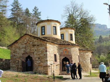 "Откриха реставрирания манастир ""Свети Пророк Илия"""