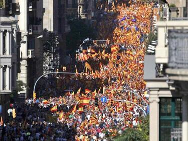 В Каталуния подеха нови протести за независимост