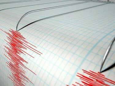 Слабо земетресение е регистрирано в Сливенско