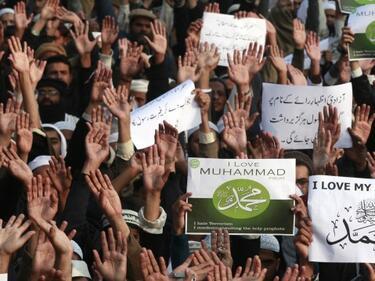Протести в Близкия Изток заради въздушните удари
